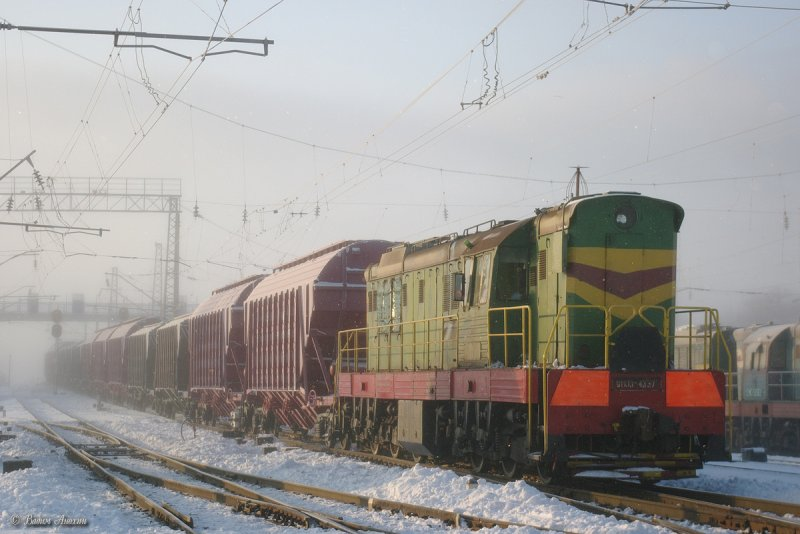 Diesel shunter ChME3-4337 (Маневровый тепловоз ЧМЭ
