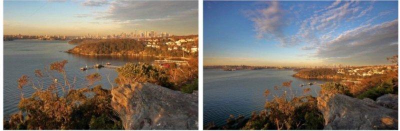 «До и после» использования широкоугольного объектива при съёмке на смартфон