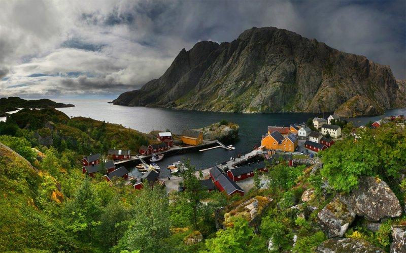 Роскошные пейзажи Норвегии - №2