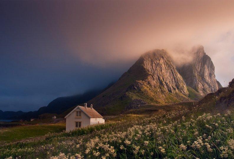 Роскошные пейзажи Норвегии - №15