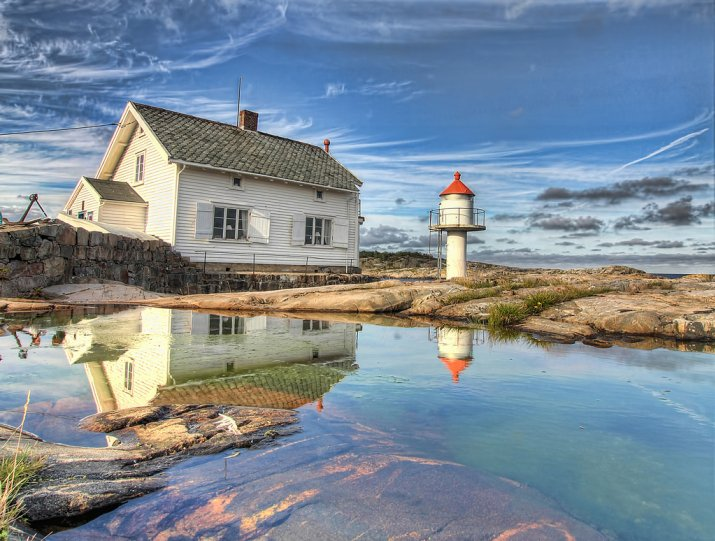 Роскошные пейзажи Норвегии - №22