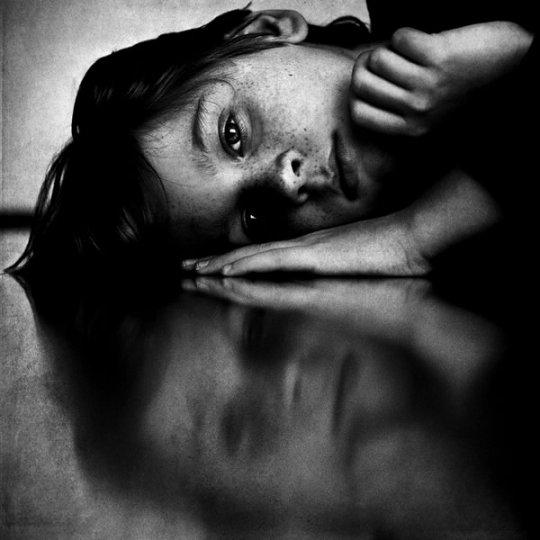Потрясающие чёрно-белые портреты - №16