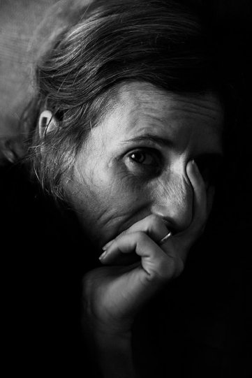 Потрясающие чёрно-белые портреты - №28