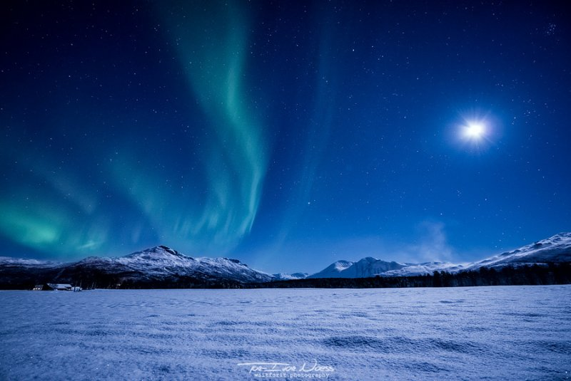 Полярное сияние над Норвегией - №3