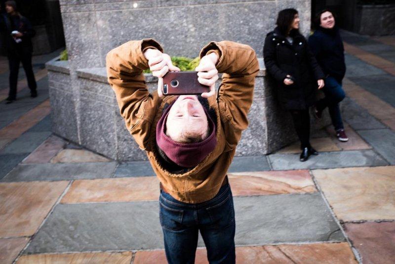 Уличный фотограф Ронен Берка - №11