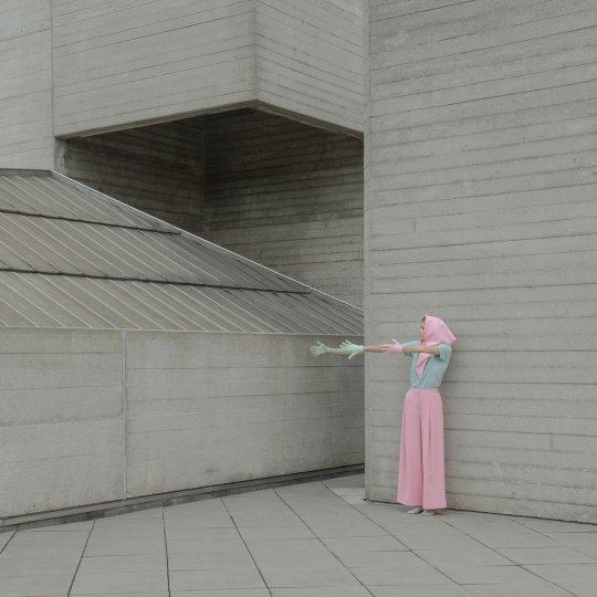 Архитектура в стиле брутализма - №7