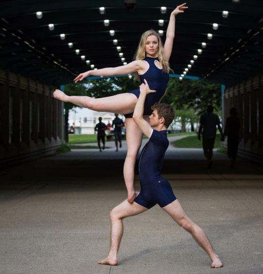 Балерины на улицах - №18