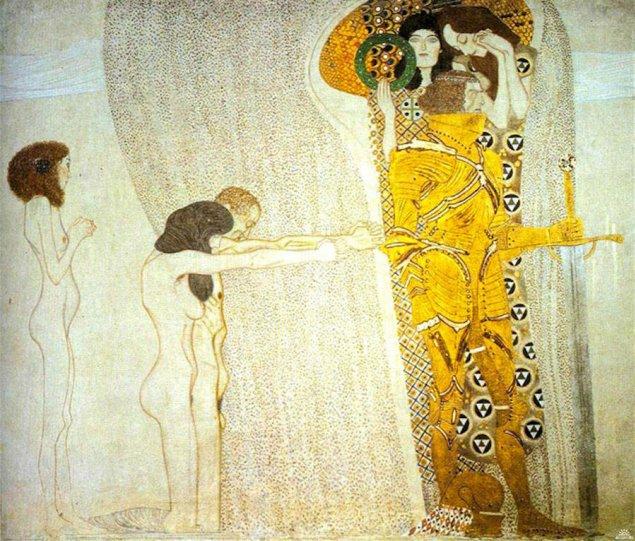 Модели воссоздают картины Гюстава Климта - №7