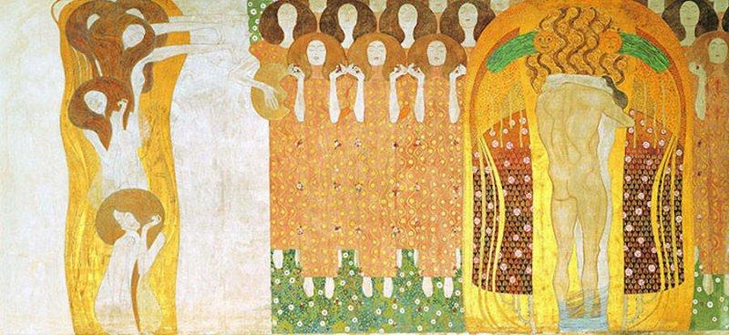 Модели воссоздают картины Гюстава Климта - №5