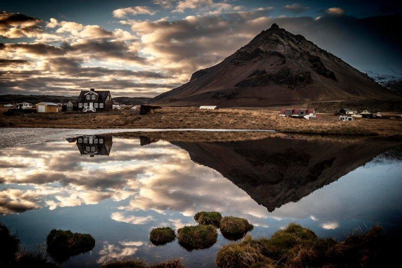 Автор: Michiel Mulder, Исландия, Арнастрапи