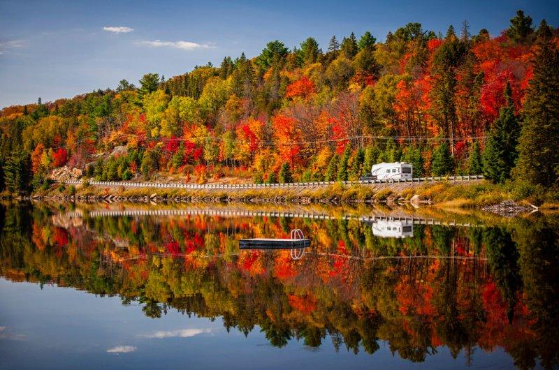 Автор: Елена Елисеева. Канада, парк Алгонкин, Онтарио