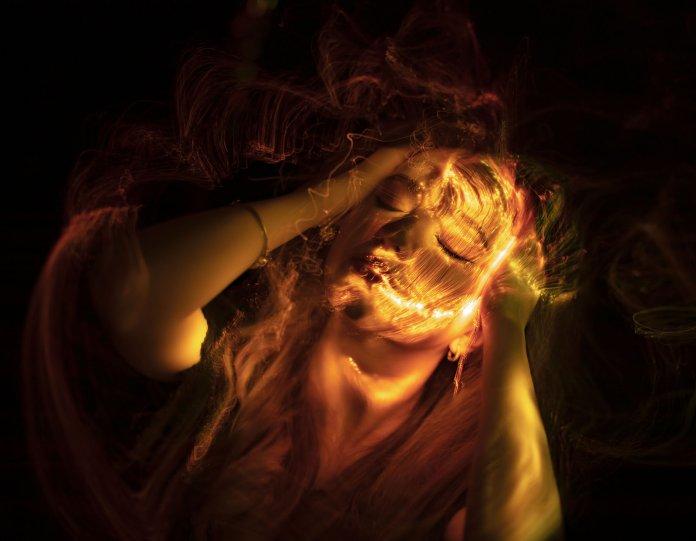 Портреты втехнике световой кисти - №5