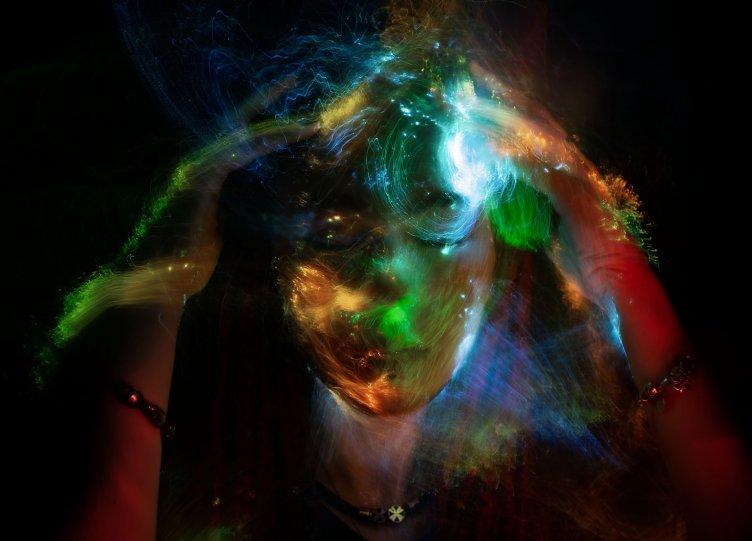 Портреты втехнике световой кисти - №6