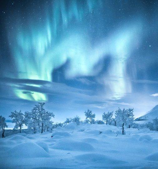 Красота северного сияния - №2