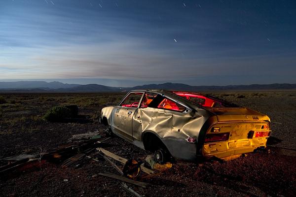 Ночные фотографии заброшенного Запада - №4