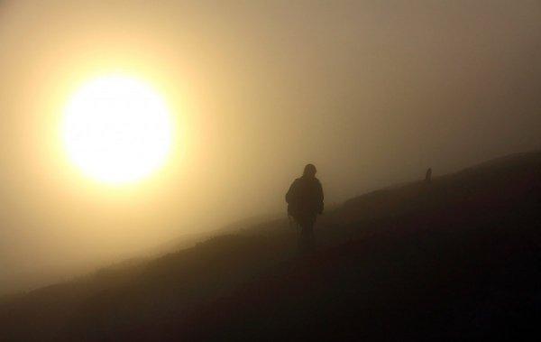 15 Солнце в тумане