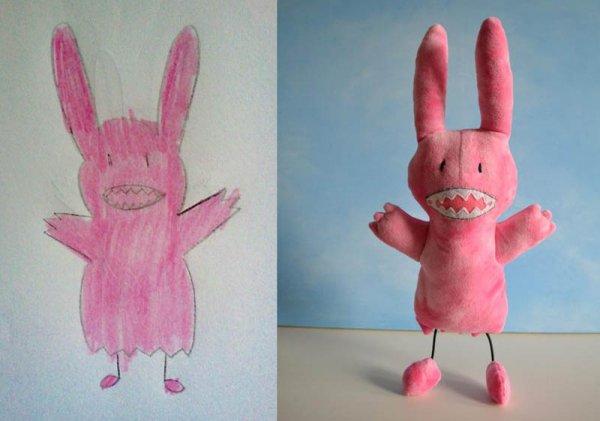Фантазии ребенка в реальных игрушках. Очень милые фото - №5