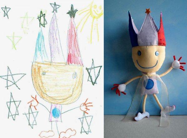 Фантазии ребенка в реальных игрушках. Очень милые фото - №9