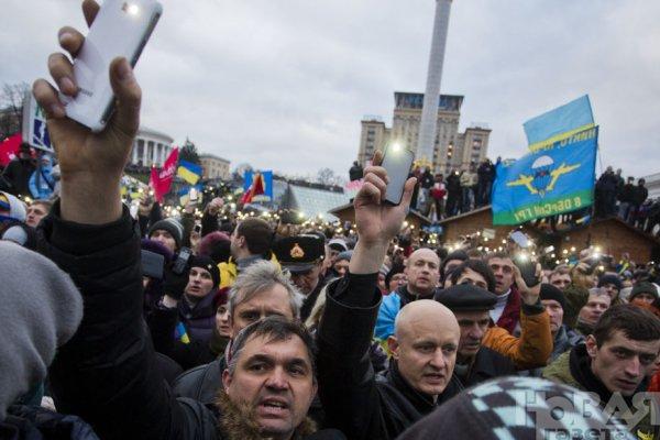 Новости в фотографиях - Украина. ЕвроМайдан 2013 - №2