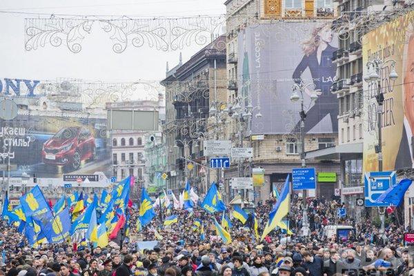 Новости в фотографиях - Украина. ЕвроМайдан 2013 - №10