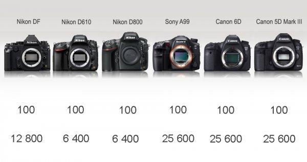 Сравнение новинок профессиональных зеркальных фото камер - №8