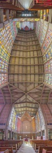 Головокружительные вертикальные фото панорамы церквей - №3