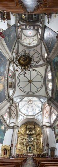 Головокружительные вертикальные фото панорамы церквей - №7