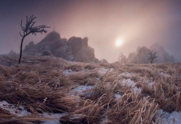 Зимние фото пейзажи из Крыма - №6