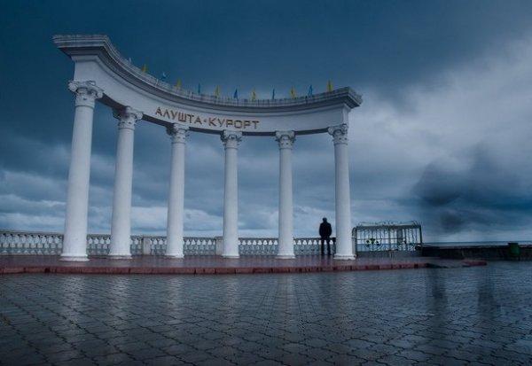 Зимние фото пейзажи из Крыма - №14