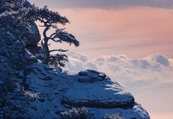 Зимние фото пейзажи из Крыма - №22