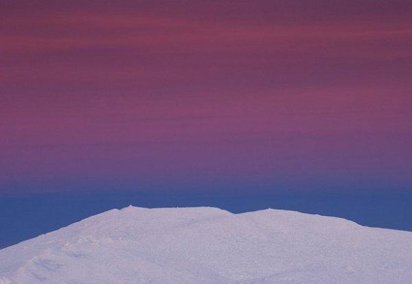 Зимние фото пейзажи из Крыма - №30
