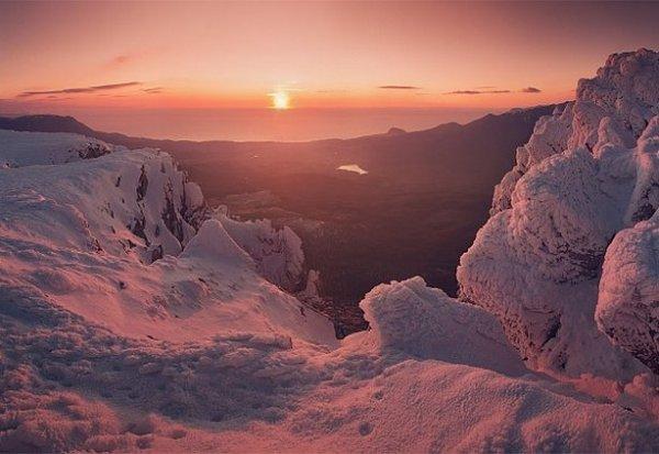 Зимние фото пейзажи из Крыма - №34