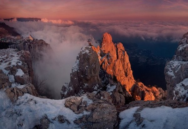 Зимние фото пейзажи из Крыма - №46
