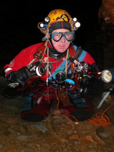 Дайвинг в подводных пещерах - красивые фото природы - №5