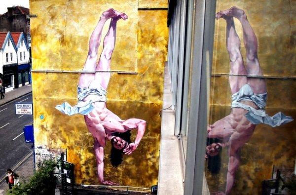 Новости в фотографиях - Лучшая подборка стрит-арт 2013 - №2