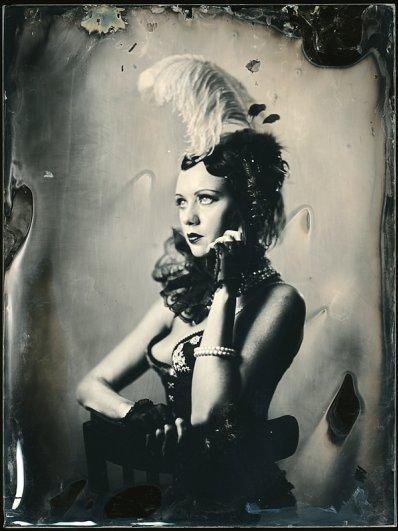 Андрей Шерстюк. Фото портреты в старинной технике амбротипии - №15