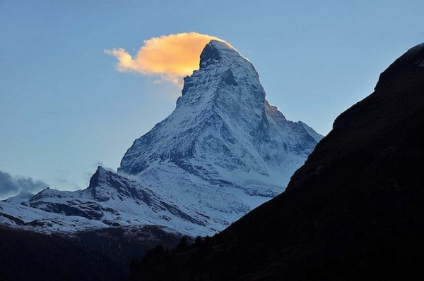 Лучшие фото Альпийских гор Маттерхорн - №5