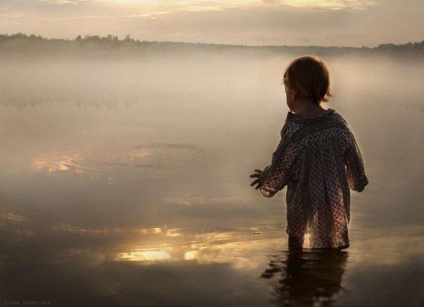 Очаровательные фото кадры - дети и животные - №13