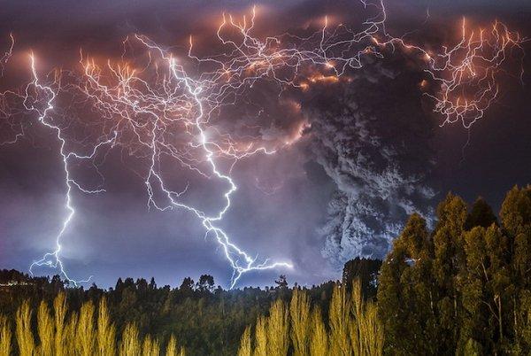 Лучшие фото кадры извержения вулканов мира - №6