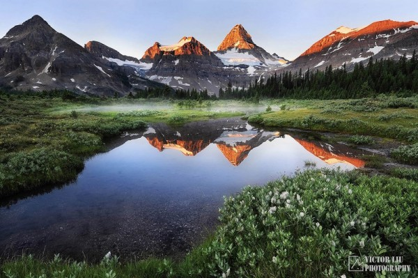 Чувственные фото пейзажи от канадского фотографа Victor Liu - №7