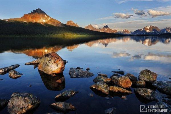 Чувственные фото пейзажи от канадского фотографа Victor Liu - №19