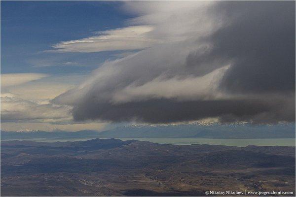Аргентина, вид с воздуха - южноамериканские фото пейзажи - №2