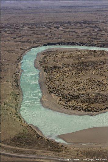Аргентина, вид с воздуха - южноамериканские фото пейзажи - №6