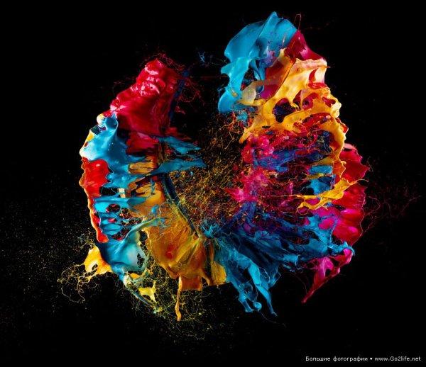 Фото художник Фабиан Офнер (Fabian Oefner) - креативная физика - №1
