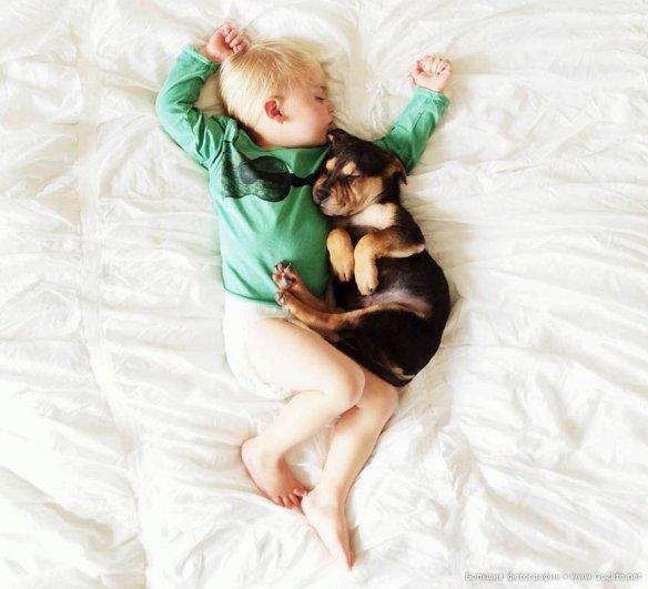 Милые дети и собачки - новый тренд Instagram - №5