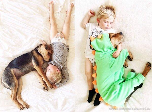 Милые дети и собачки - новый тренд Instagram - №13