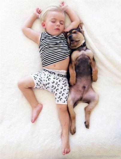 Милые дети и собачки - новый тренд Instagram - №1