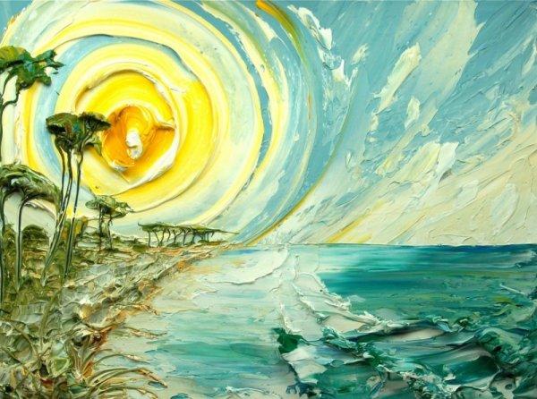 Настоящий объем - творческие идеи от живописца Джастина Геффри - №14