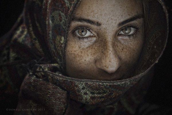 Фото: donell gumiran -  портреты людей фото
