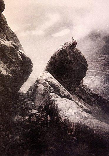 ..В то время не было столь технологичного альпинистского оборудования.